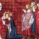 Le couronnement de Charlemagne par le pape Léon III le 25 décembre 800 à Saint-Pierre de Rome