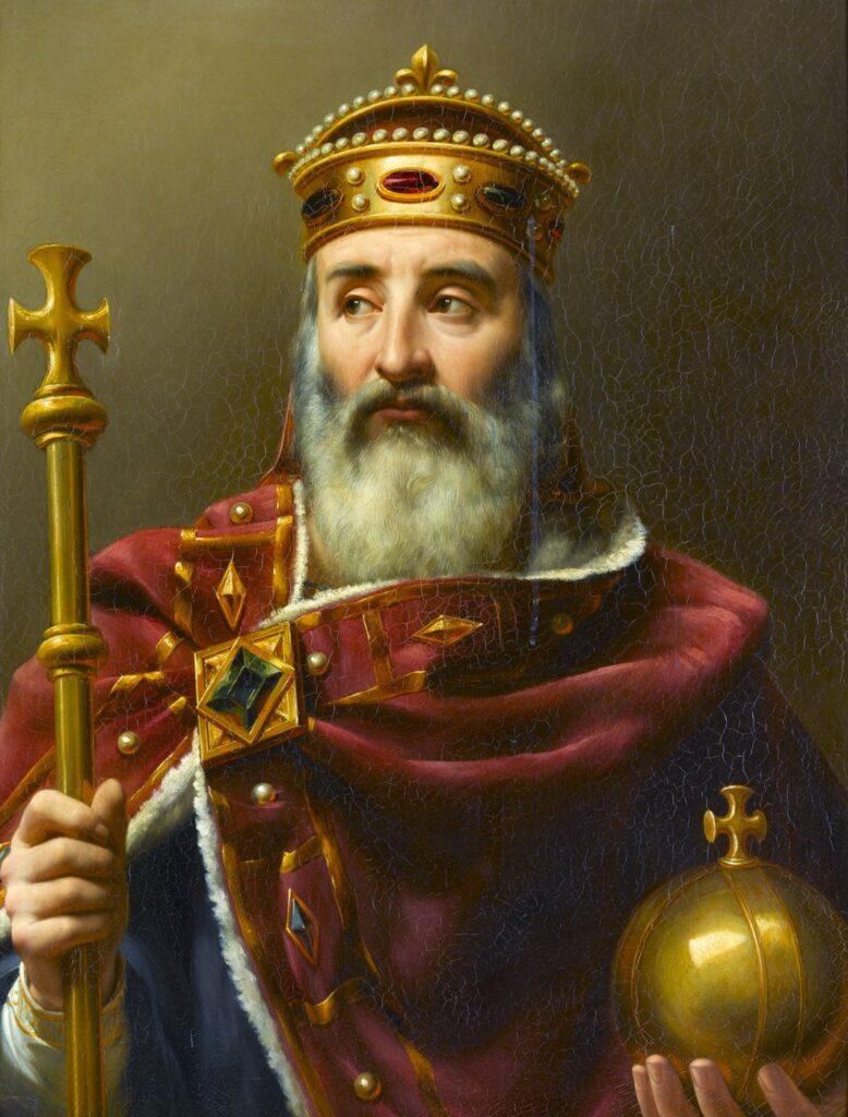 Charlemagne Empereur d'Occident (742-814) par Louis-Félix Amiel