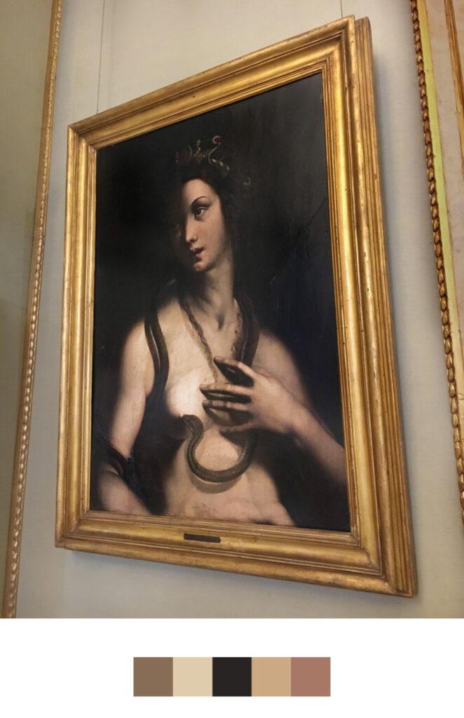 La mort de Cléopâtre dans l'art de la peinture - Leonardo da Pistoia - Villa Borghese - Rome