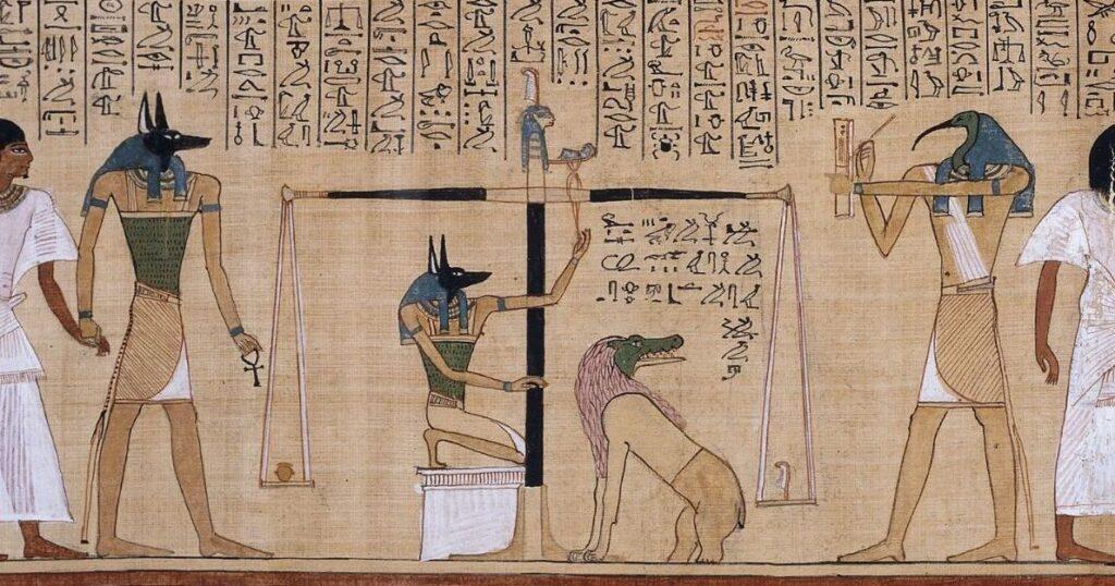 La pesée du coeur dans le mythe égyptien - Pourquoi le coeur est-il le symbole de l'amour ?